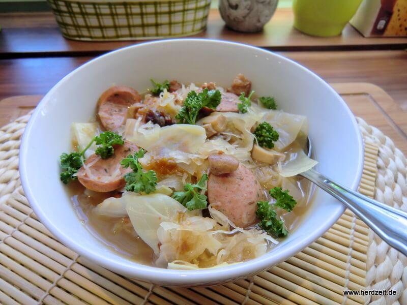 Polnischer Sauerkrauteintopf