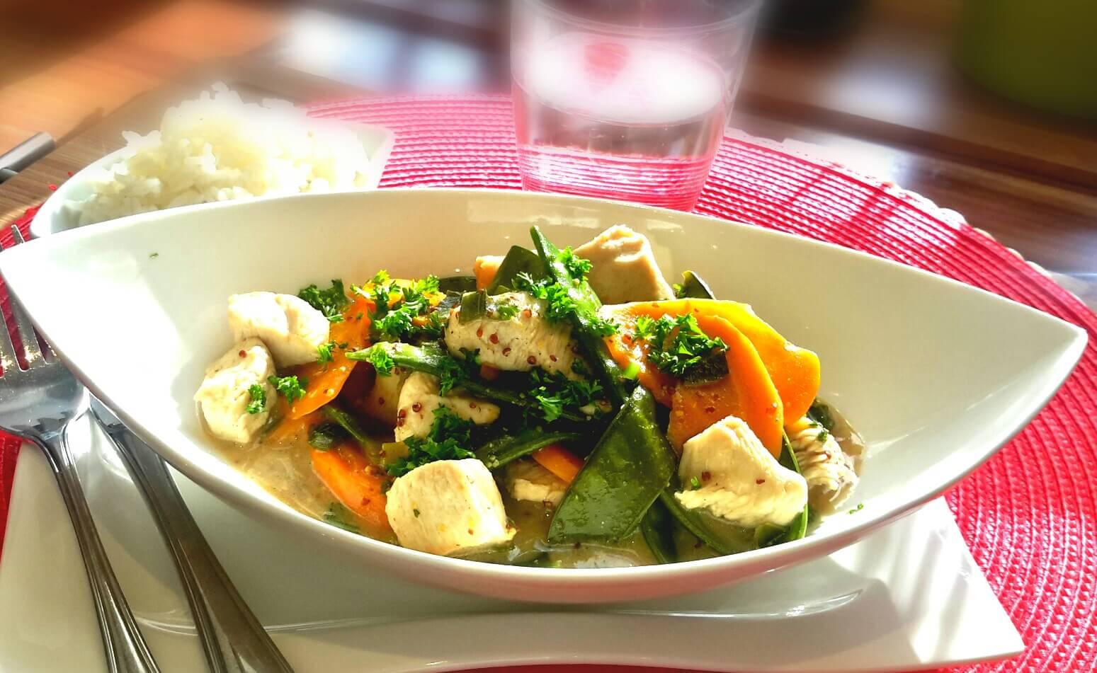 Puten-Gemüse Gulasch