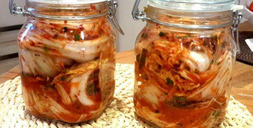 selbsteingelegtes Kimchi
