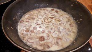 Sahne einkochen