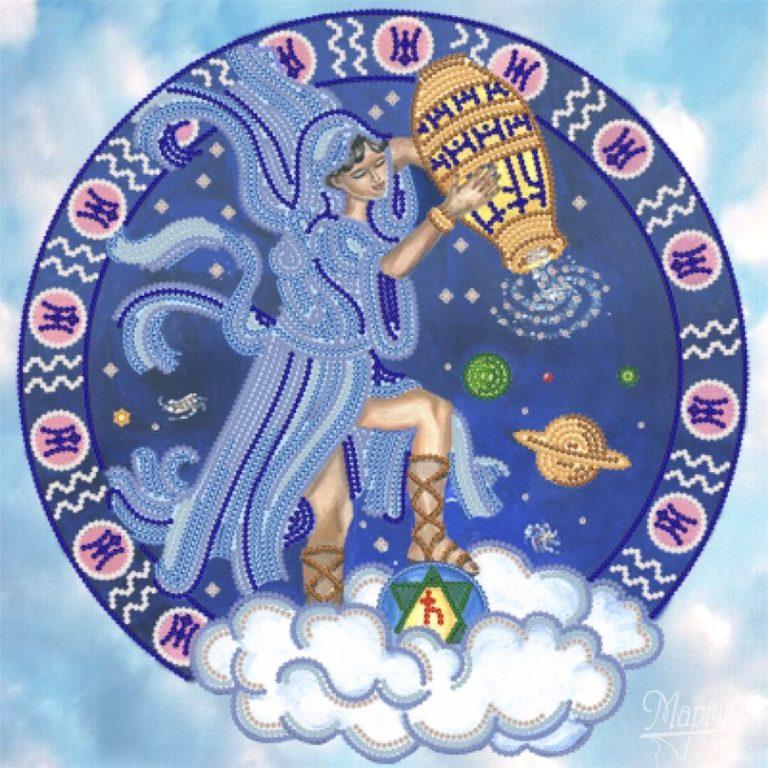 Картинки знаков зодиаков водолей