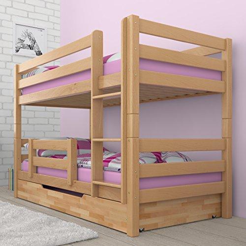 Favorit Etagenbett Stockbett Doppelstockbett RICKY inkl Bettkasten MK18