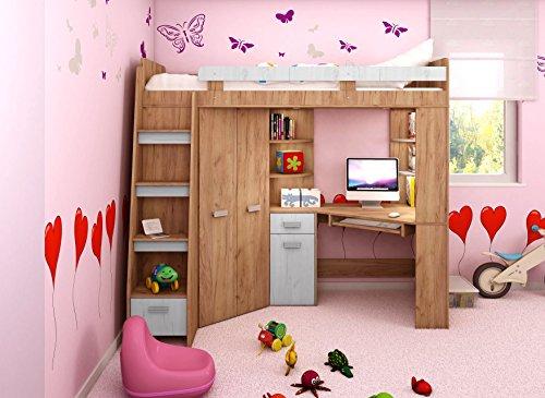 Hochbett Kinder Mit Schreibtisch 2021