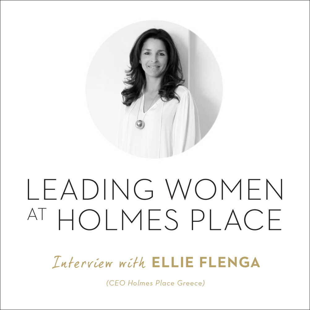 Holmes Place Greece CEO Ellie Flenga in a interview about women in business