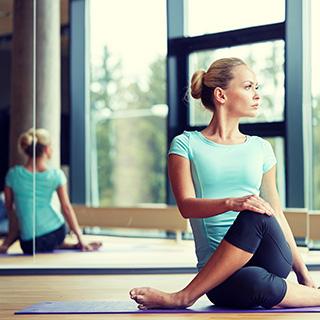 pilates video workout tutorial