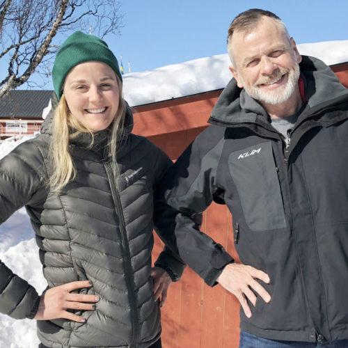 Holtab inleder samarbete med skidstjärnan Stina Nilsson