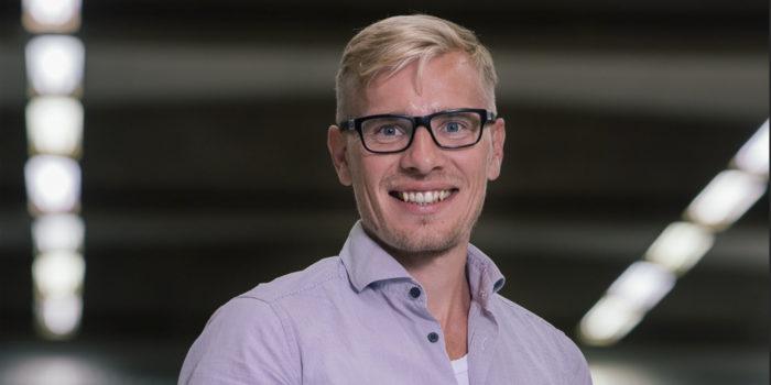 Han är vår nya försäljningsingenjör i Finland
