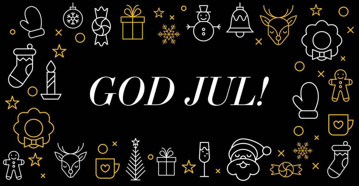 Från oss alla, till er alla <br> – God jul och Gott nytt år!