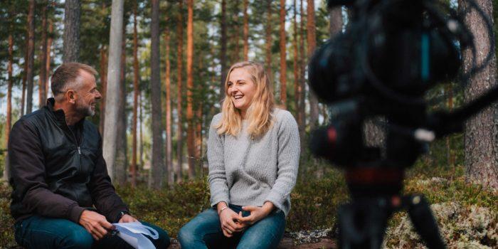 Holtab och Stina Nilsson i annorlunda rekryteringskampanj