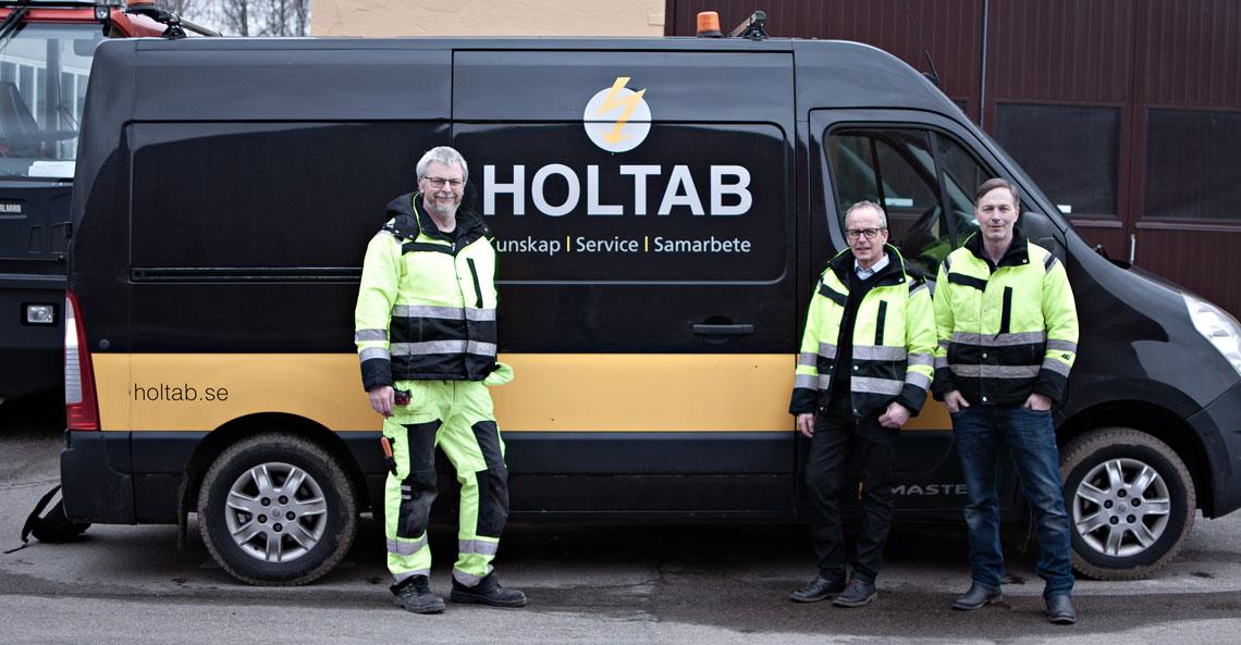 Holtab startar ny serviceavdelning