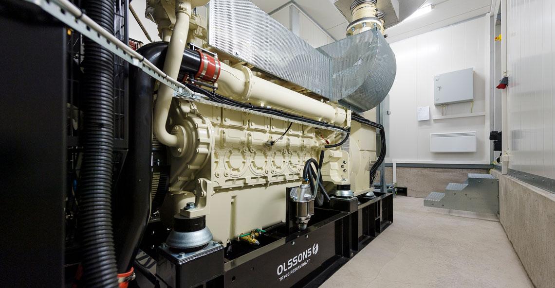 Holtab levererar reservkraft till kriscentrum i Karlshamn