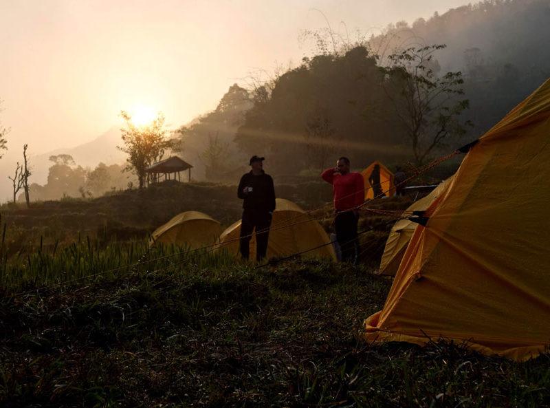 Vårens resa till Nepal