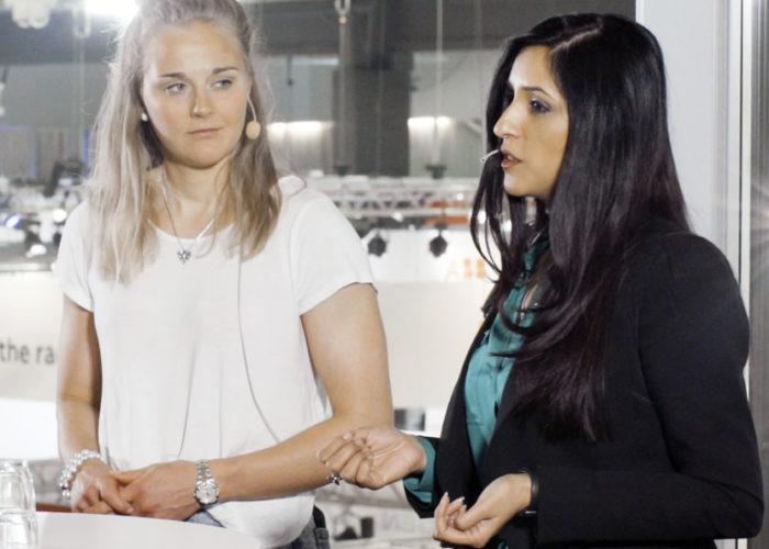 Film: Pepp-talk med Stina Nilsson och Saira Alladin