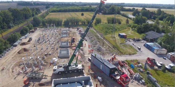 Holtab levererar när dansk järnväg elektrifieras