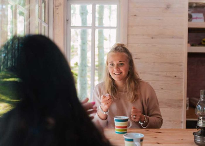 Del 1: Rädsla. Holtab och Stina Nilsson möter Sveriges första kvinnliga elitsoldat