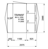 TSK 315-3 12kV • Ritn. nr 10762