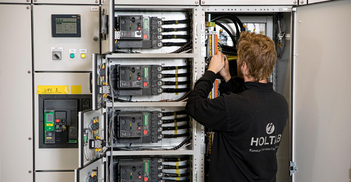 Bra start för Holtabs service- och installationssatsning