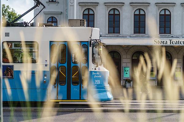 De blå spårvagnarna är ett av Göteborgs mest kända signum.