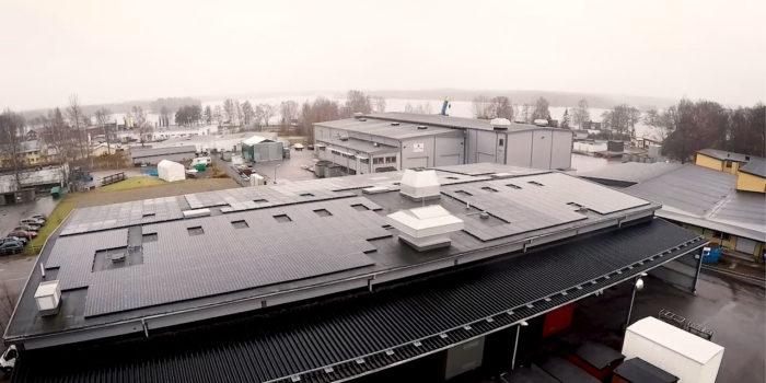 Holtabs solceller viktig del av offensivt miljötänk