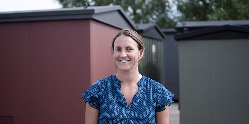Sandra Bergh Rydiander,  kvalitetschef på Holtab.