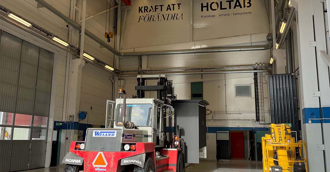 Holtab söker Elektriker/Elmontör till Lidhult