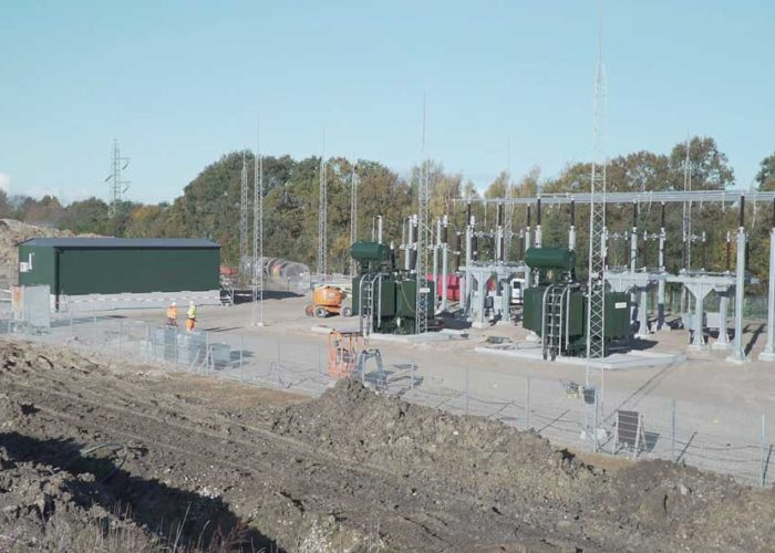 Holtab deliver technical buildings to the Danish railway