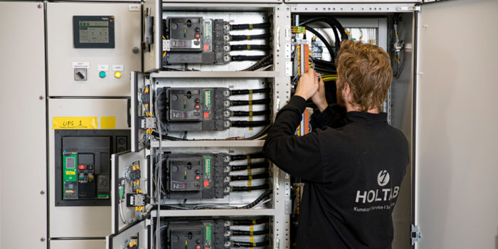 A good start for Holtab's servicing and installation efforts