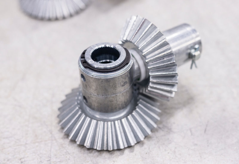 Ensuring operation with the right spare parts