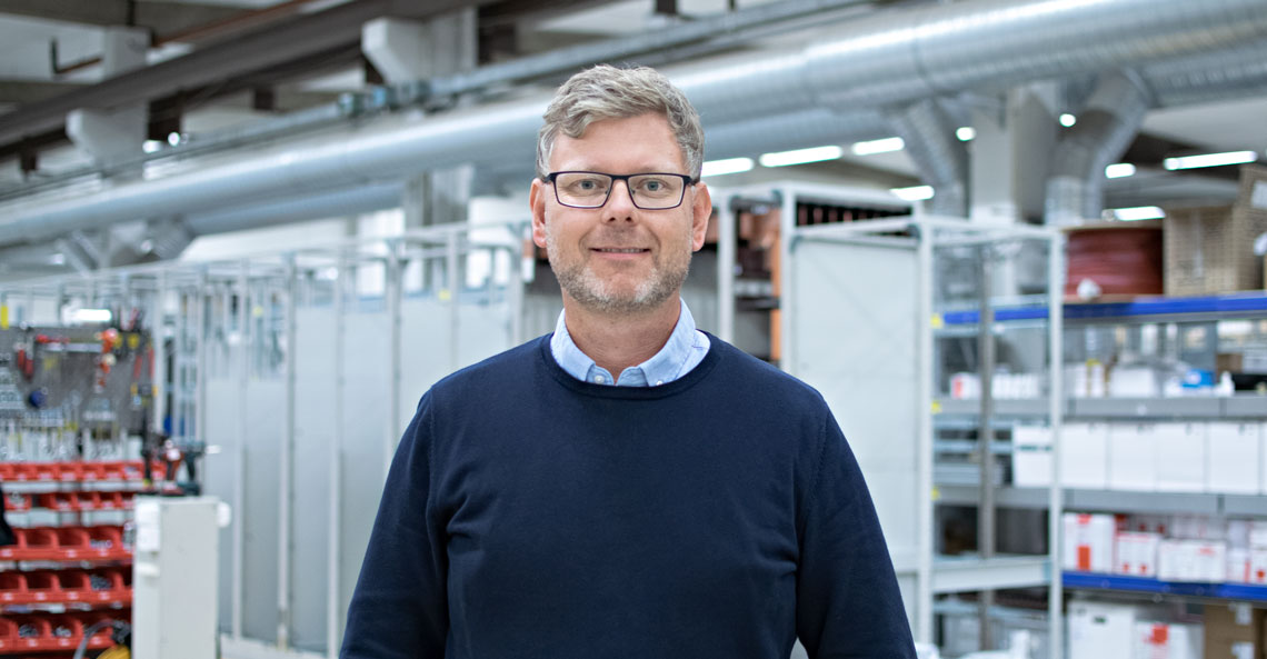 Electric vehicles get power from Carl-Fredrik