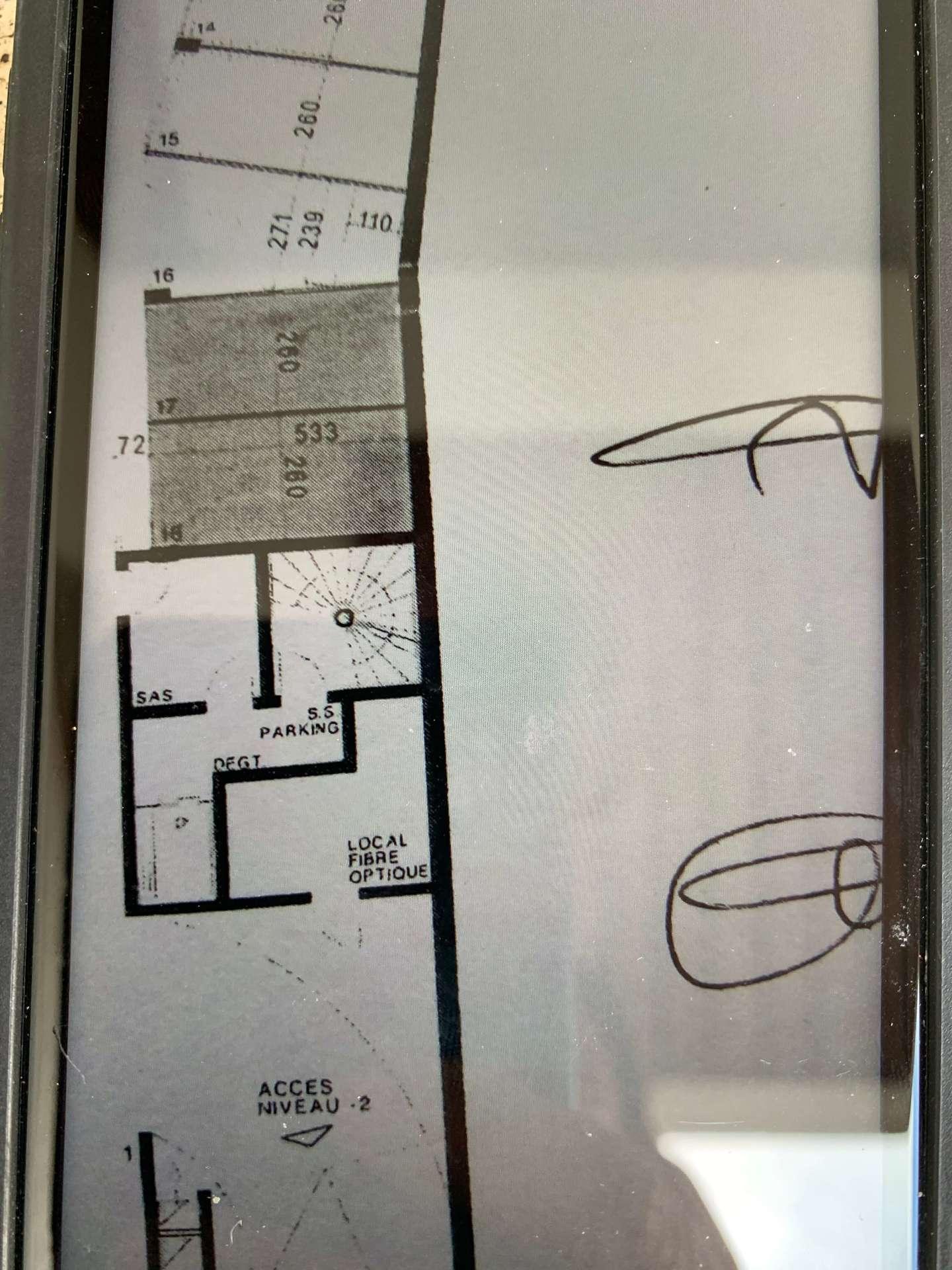 Vente box fermé garage 14 m² 13008 Marseille_plan