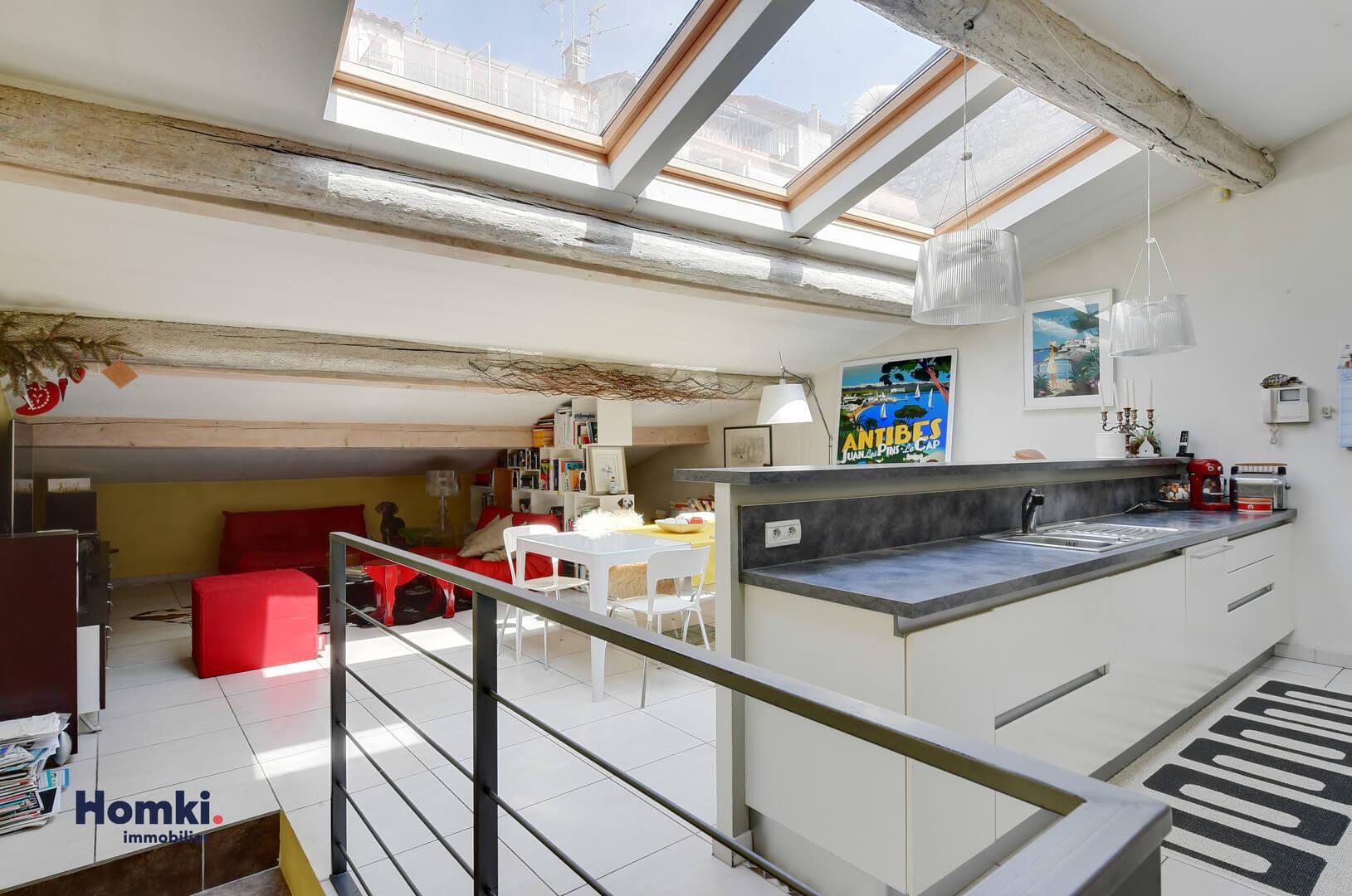 Vente appartement duplex Antibes 06600 T4 90m²_2