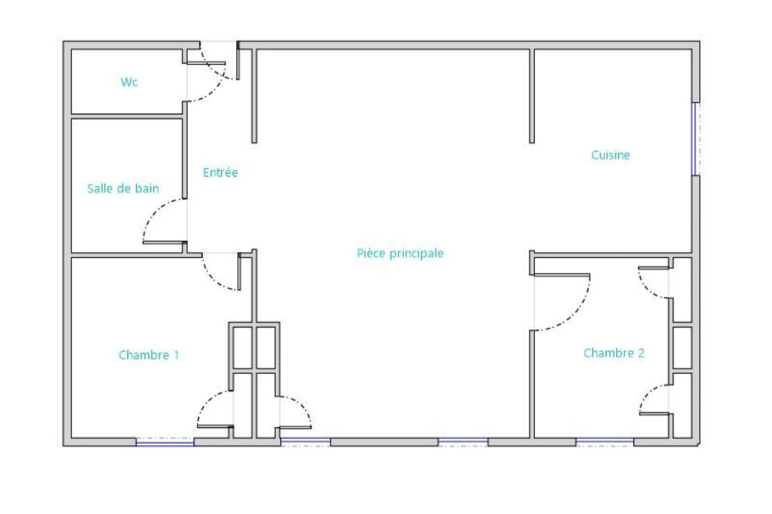 Vente appartement 77m² T3 69003_13