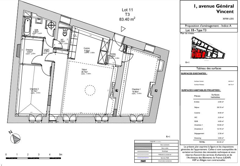 Vente Appartement 84m² T3 30700_10
