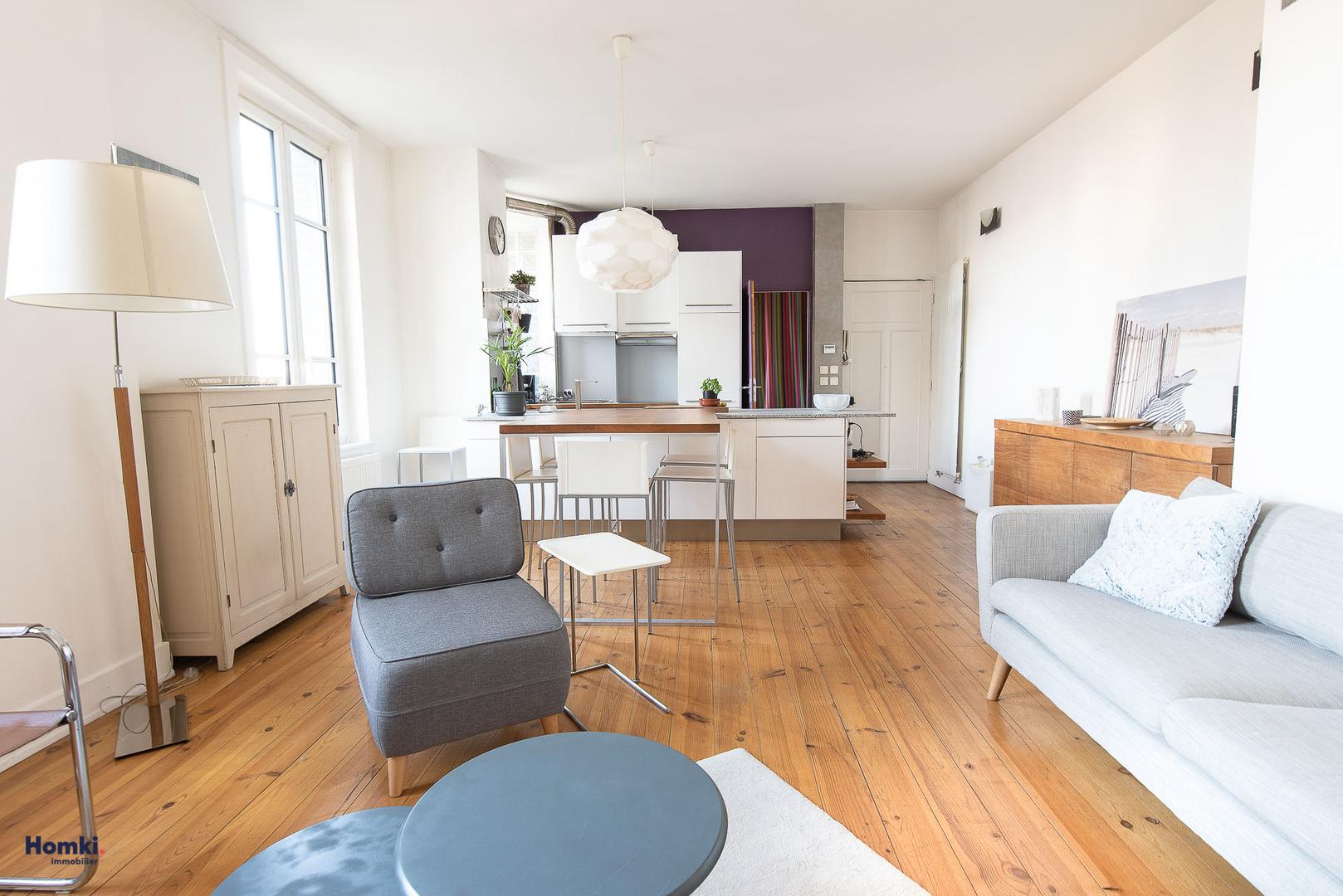 Vente Appartement 57m² T2 69007_2