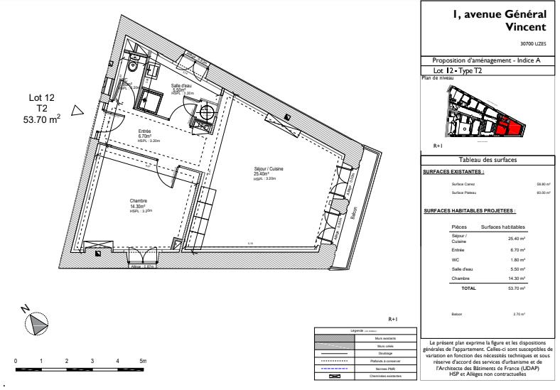 Vente Appartement 54m² T2 30700_10