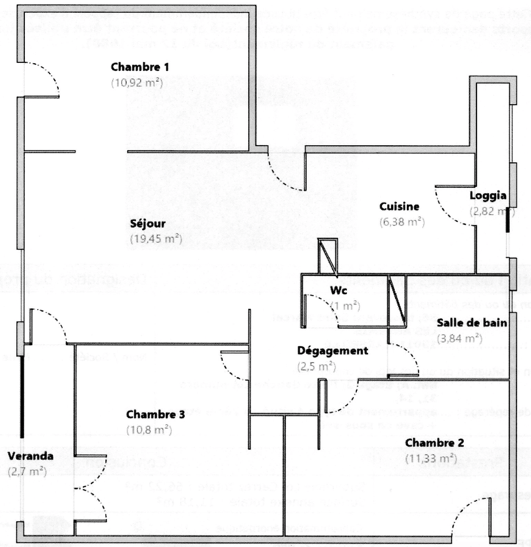 Vente Appartement Marseille 66m² T4 13011_19