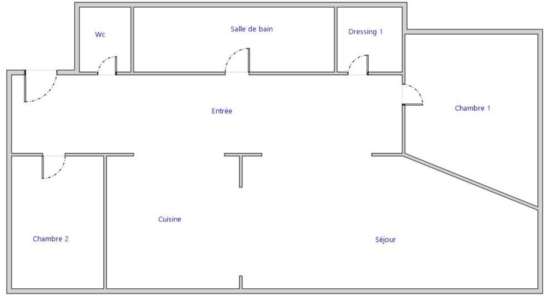 Vente Appartement 92m² T3 38000_13