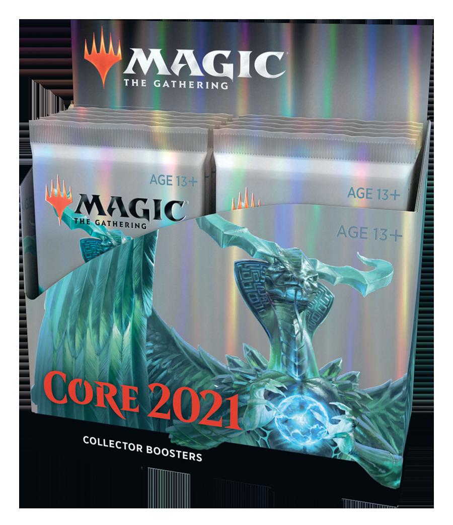 Core Set 2021 Caja de Sobres de coleccionista (12) inglés