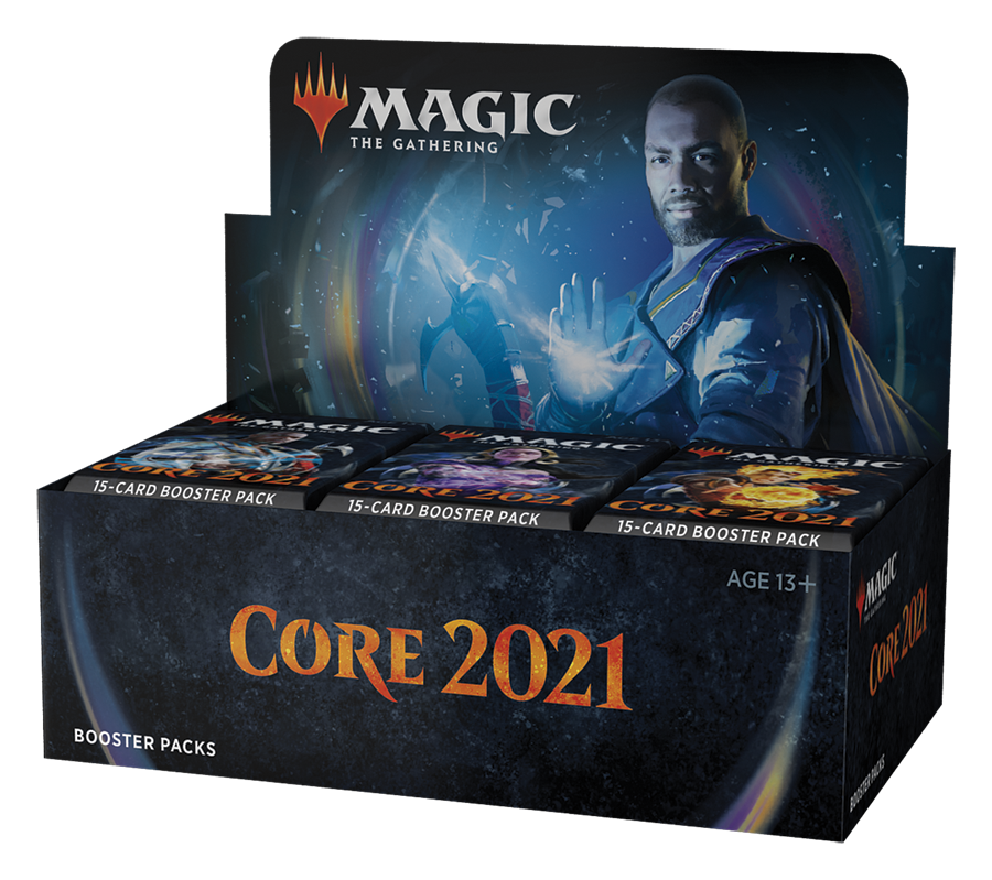 Core Set 2021 Caja de Sobres de Draft (36) inglés