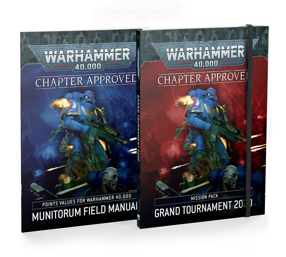 WH40K: GRAND TOURNAMENT CHAPTER APPROVED 2020 (ENGLISH)
