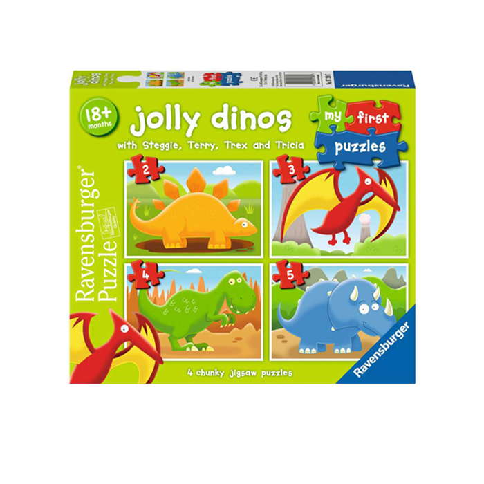 JOLLY DINOS. MY FIRST PUZZLES