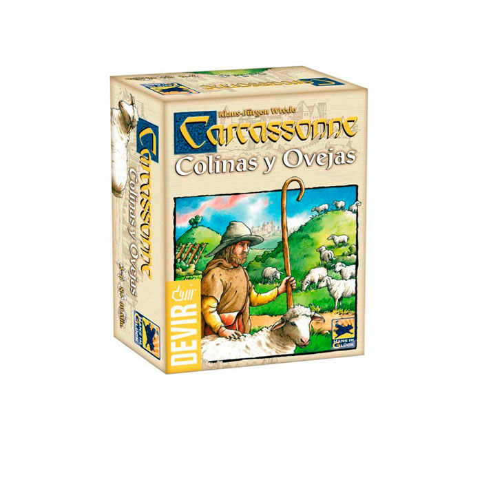 COLINAS Y OVEJAS, EXP. CARCASSONNE ED.2014