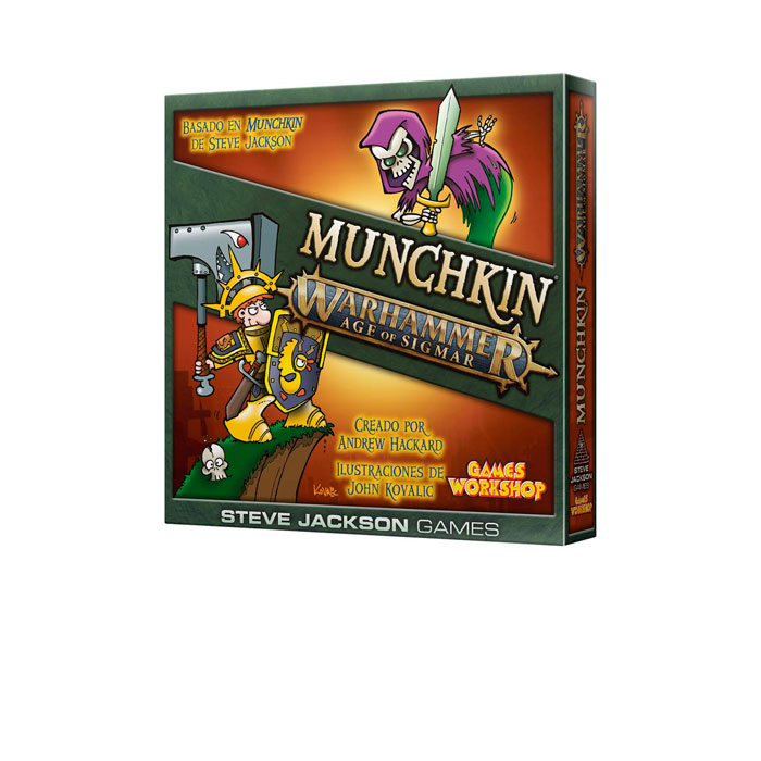 MUNCHKIN AGE OF SIGMAR
