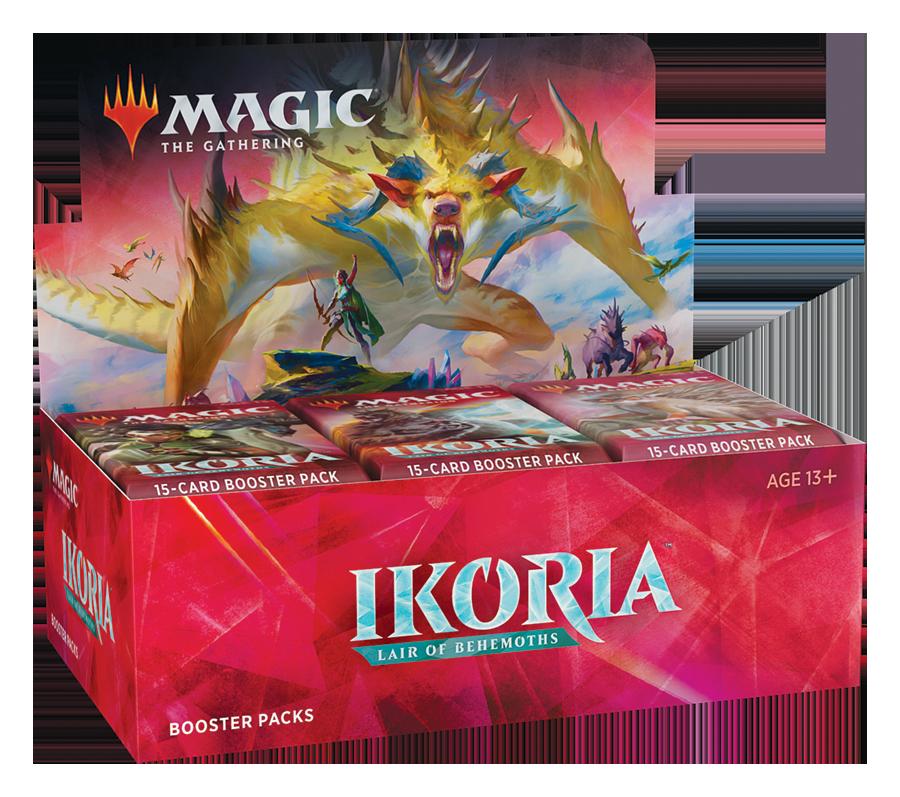 Ikoria: Lair of Behemoths Expositor de Sobres (36) inglés