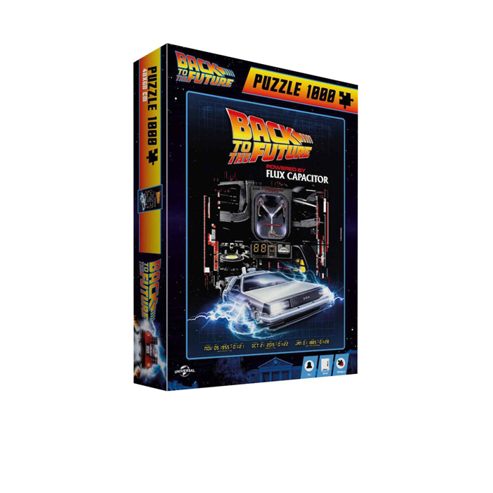 PUZZLE BACK TO THE FUTURE