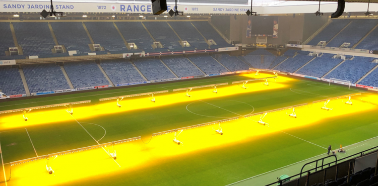 Horticulture grow light technology to further improve the beautiful game of football