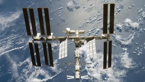 Iss from overhead nasa