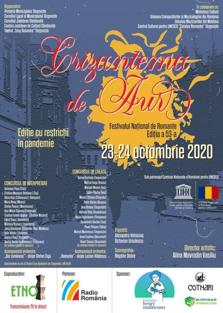 Crizantema de Aur 2020 20-10-21