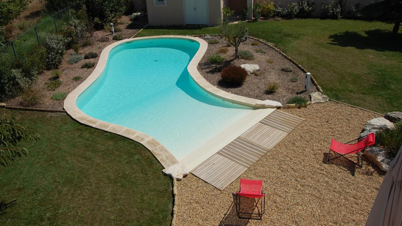 Piscine Plage Laureate Des Eco Pool Attitude Idees Piscine