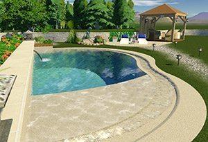 RiverSide, le nouveau concept de piscine par Diffazur